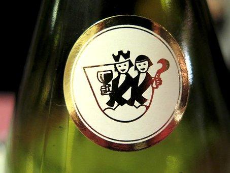 Wine Label, Label, Wine Bottle, Wine Logo, Wine, Green