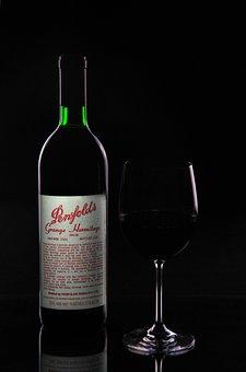 Bottle, Grange, Wine, Wine Glass, Wine Bottle, Red Wine