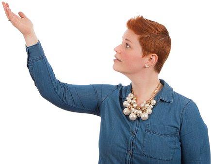 Explaning, Woman, Poses, Female, E-learning, Education