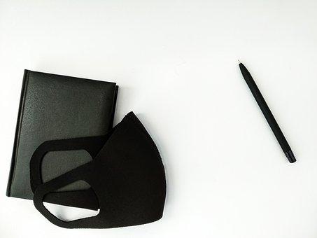 Black Protective Mask, Black Diary, Epidemic