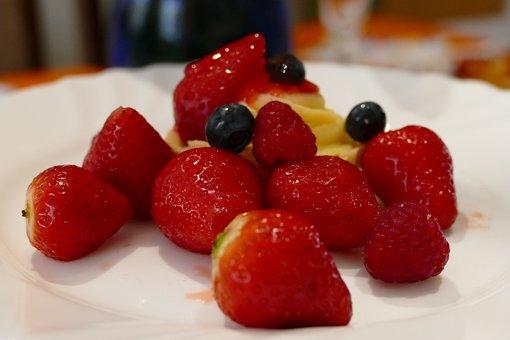Fruit, Strawberries, čučo, Blueberries, Berry