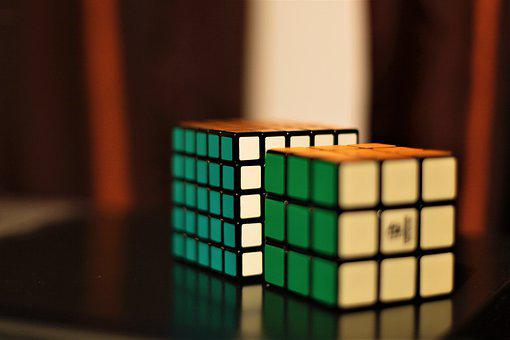 Cube, Rubiks Cube, Puzzle, Play, Toys, Brain, Colorful