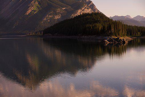 Mountains, Canada, Rockies, Kananaskis, Landscape