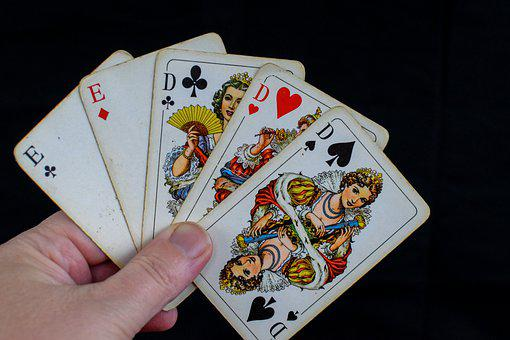 Cards, Poker, Full House, Full Hand, Playing Cards, Win