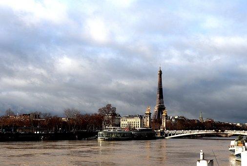 Urban Landscape, Paris, France, City, Capital, Peniche