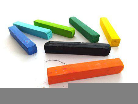 Chalk, Color, Creative, Rainbow
