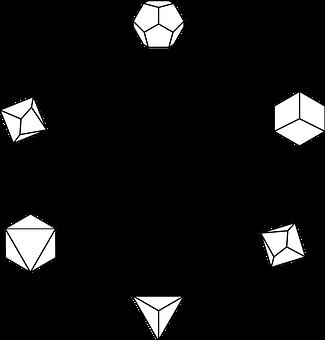 D D, Dice Circle, Dice, D20, Emblem, Dnd