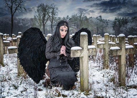 Angel, Archangel, Satan, Religion, Dove, Fantasy, Devil