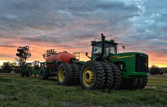 Farm, Machinery, Harvest, Tractor, Agriculture, Farming