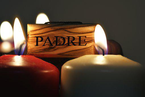Jesus, Candles, Light, Father