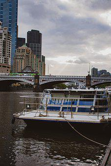 Yarra River, Melbourne, Australia, Yarra, River, City