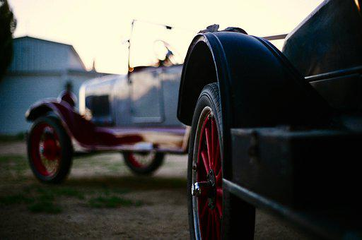 Ford, Model A, Model T, Antique, Oldtimer, Vintage