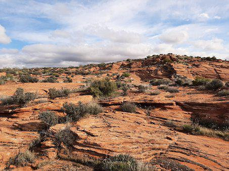 Desert, Sand, Sandstone, Rocks, Landscape, Dry, Nature