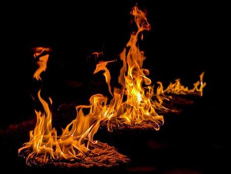 Fire, Religion, Nepal, Culture, Spiritual, Pray