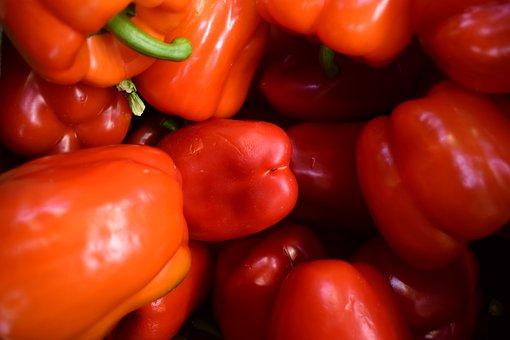 Pepper, Stock, Market, Sale, Marketplace, Shopping