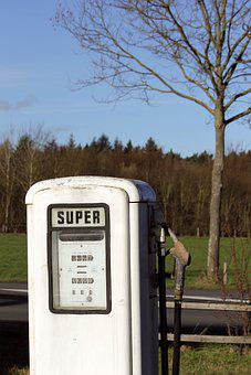 Gas, Station, Vintage, Petrol, Pump, Germany