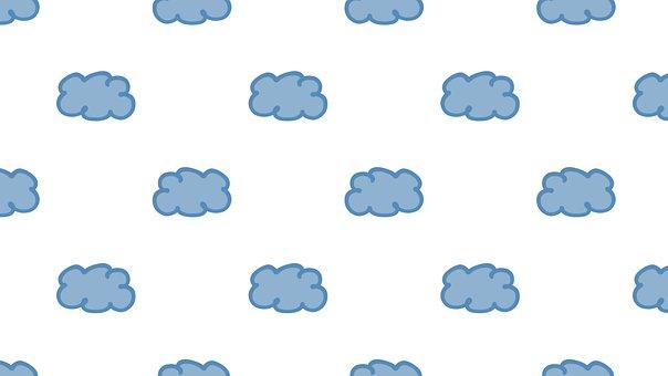 Clouds, Blue, White, Azure, Cyan, Sky, Celestial