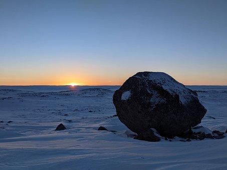 Arctic, Landscape, Barren, Desolate, Winter, Cold