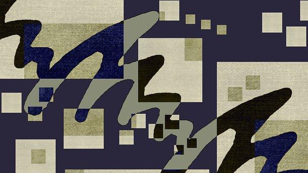 Square, Geometric, Shape, Background, Digital Paper