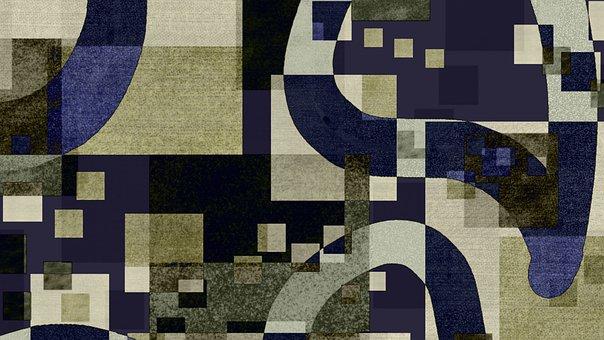 Square, Geometric, Shape, Background, Scrapbook