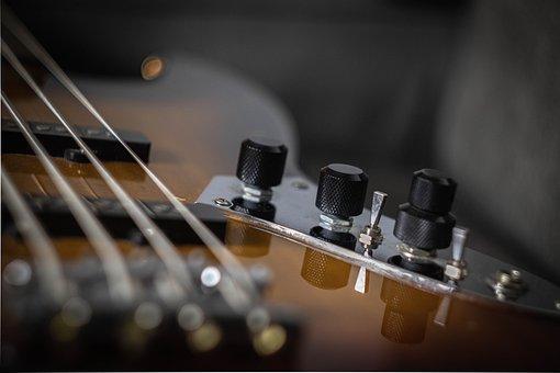 Bass, Instrument, Strings, Guitar, Music