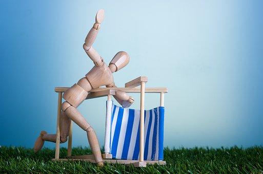 Sea Beach, Dummies, Chairs