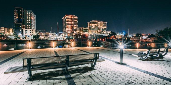 Night, City, Urban, Cityscape, Architecture, Dark