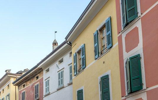 Salo, City, Facade, Architecture, Building, Window