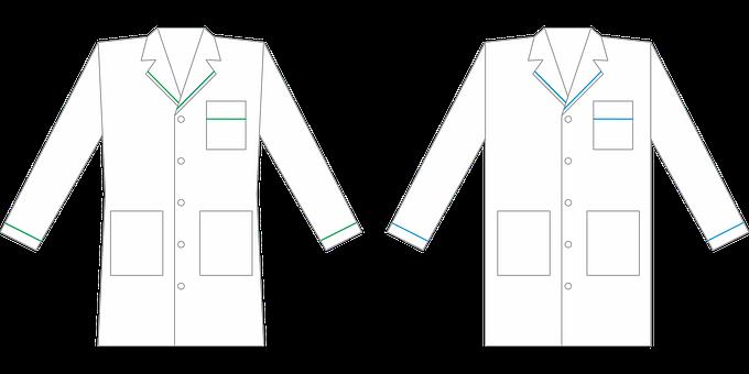 Uniform, Coat, Mockup, Clothing, Top, White Coat