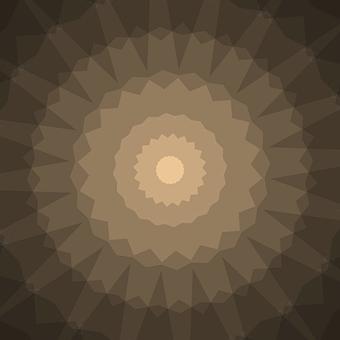 Rosette, Decorative, Mandala, Mandalas, Ornament