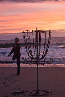 Disc Golf, Basket, Frisbee, Target, Sport, Disc, Play