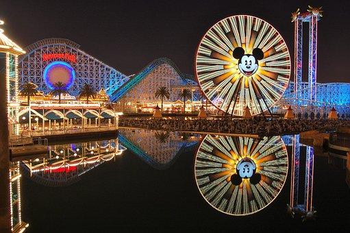 Disneyland, California Adventure, Roller Coaster