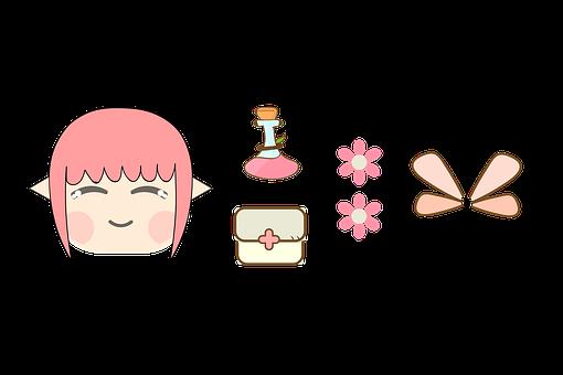 Fairy, Magic, Fantasy, Accessories, Potion, Wings