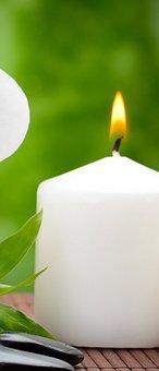 Candle, Flame, Candlelight, Light, Spa, Closeup
