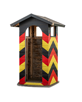 Guard Post, Control Post, Military, Guardhouse