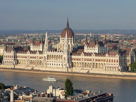 Hungarian Parliament, Parliament, Budapest, Hungary