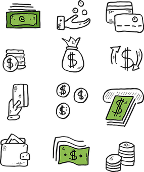 Money, Icon, Finance, Symbol, Internet, Currency