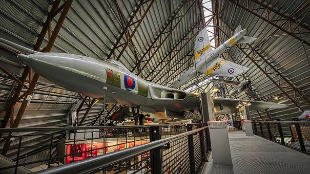 Aircraft, Vulcan Bomber, Museum, Jet