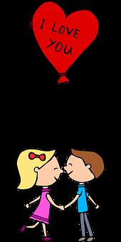 Couple, Love, Balloon, Heart, Romantic, Romance