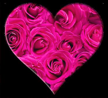 Heart, Roses, Valentines Day, Valentine, Love