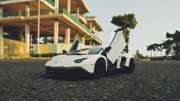 Lamborghini Aventador, Model Car, Car, Model, Toy