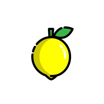 Lemon, Fruit, Icon, Yellow Lemon, Food, Modern Style