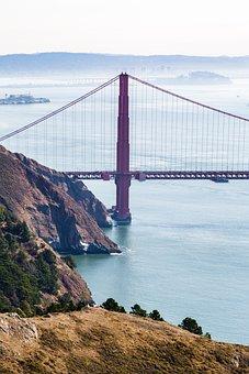 Coast, Bay Area, Water, Ocean, Bay, California