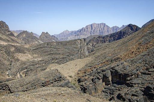 Oman, Dashanub Al-batina Region, Snake Canyon, Canyon