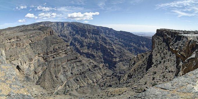 Oman, Region Ad Dakhiliyah, Jabal Shams