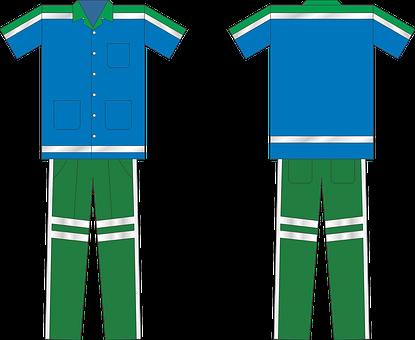 Street Sweeper, Uniform, Mockup, Top, Pants, Clothing
