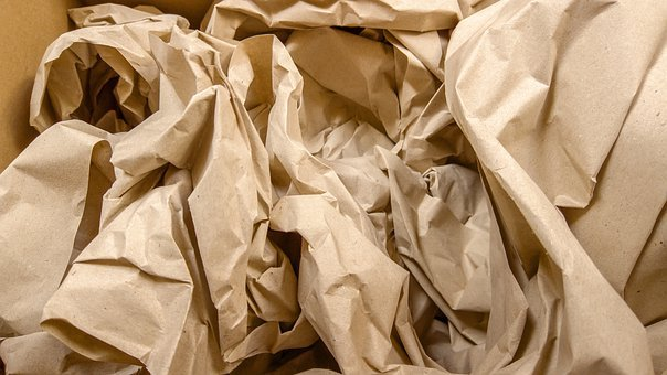 Paper, Crumpled, Recycle, Brown Paper, Texture