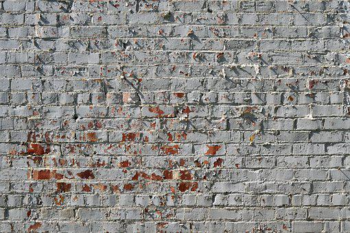 Brick, Wall, Texture, Bricks, Pattern, White, Stone