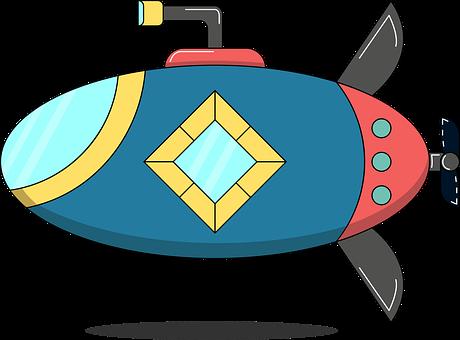 Submarine, Porthole, Watercraft, Sub, Bathyscaphe