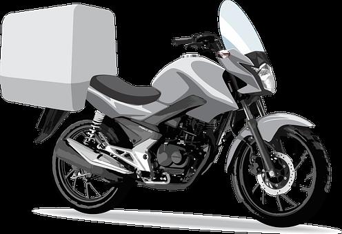 Motorcycle, Motorcycle Trunk, Vehicle, Motorbike, Ride